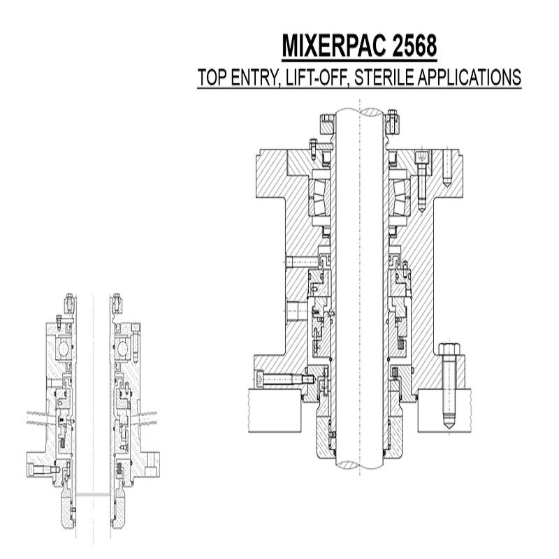 MixerPac 2568 Sanitary Mechanical Seal