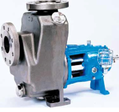 What is a self-priming pump?